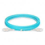 3m (10ft) SC UPC to SC UPC Duplex OM3 Multimode Armored PVC (OFNR) 3.0mm Fiber Optic Patch Cable
