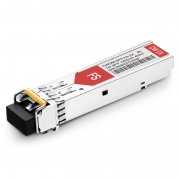 Alcatel-Lucent SFP-GIG-45CWD40 Совместимый 1000BASE-CWDM SFP Модуль 1450nm 40km IND DOM