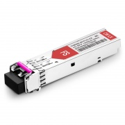 Brocade E1MG-CWDM40-1350 Compatible 1000BASE-CWDM SFP 1350nm 40km DOM LC SMF Transceiver Module