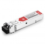 Brocade E1MG-CWDM80-1390 Compatible 1000BASE-CWDM SFP 1390nm 80km DOM Transceiver Module