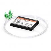 1x4 PLC Fiber Splitter, Splice/Pigtailed ABS Module, 900μm, SC/APC