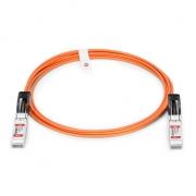 10G SFP+ Aktives Optisches Kabel (AOC) für FS Switches, 15m (49ft)