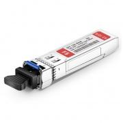 HW SFP-10G-BXU4互換 10GBASE-BX40-U BiDi SFP+モジュール(1270nm-TX/1330nm-RX 40km DOM LC SMF)