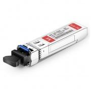 HW SFP-10G-BXU8 Compatible 10GBASE-BX80-U BiDi SFP+ 1270nm-TX/1330nm-RX 80km DOM LC SMF Transceiver Module
