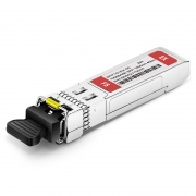 Brocade E1MG-EX1550-40 Compatible 1000BASE-EX SFP 1550nm 40km DOM Transceiver Module