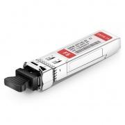 Ciena C25 DWDM-SFP10G-57.36-80 Compatible 10G DWDM SFP+ 100GHz 1557.36nm 80km DOM LC SMF Transceiver Module