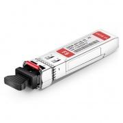 Módulo Transceptor SFP+ Fibra Monomodo 10G DWDM 100GHz 1558.17nm DOM hasta 40km - Compatible con H3C C24 DWDM-SFP10G-58.17-40