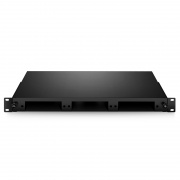 1U Slide-Out Rack Mount LGX Fiber Enclosure unloaded, holds up to 3 LGX Cassettes