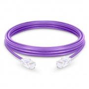 3,3ft (1m) Câble Réseau Ethernet Cat6 Non-booted Non Blindé (UTP) PVC, Violet