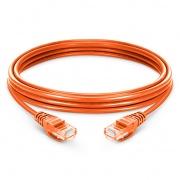 16ft (5m) Cat6 Snagless Unshielded (UTP) PVC Ethernet Network Patch Cable, Orange