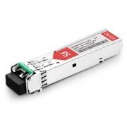 Extreme Networks C52 DWDM-SFP1G-35.82-100 Compatible 1000BASE-DWDM SFP 100GHz 1535.82nm 100km DOM Transceiver Module