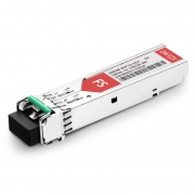 Extreme Networks C48 DWDM-SFP1G-38.98-100 Compatible 1000BASE-DWDM SFP 100GHz 1538.98nm 100km DOM Transceiver Module