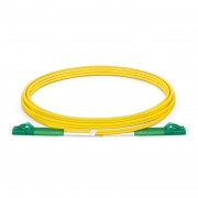 2M LC/APC - LC/APC 双工单模 OS2 弯曲不敏感光纤跳线 - 2.0mm PVC(OFNR)