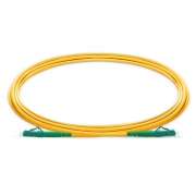 1m (3ft) LC APC to LC APC Simplex OS2 Single Mode PVC (OFNR) 2.0mm Bend Insensitive Fiber Optic Patch Cable