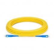 15m (49ft) SC UPC to SC UPC Simplex OS2 Single Mode LSZH 2.0mm Bend Insensitive Fiber Optic Patch Cable