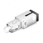 Atenuador de fibra óptica fijado SC/UPC monomodo, macho-hembra, 1dB