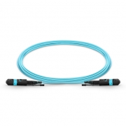 Customized 12-144 Fibers MTP®-12 OM3 Multimode HD BIF Trunk Cables, Elite, LSZH Bunch