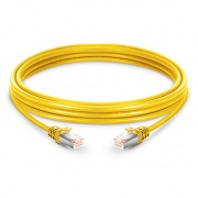 23ft (7m) Cat5e Snagless Shielded (FTP) PVC Ethernet Network Patch Cable, Yellow
