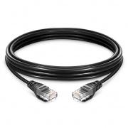 6.6ft (2m) Cat5e Snagless Unshielded(UTP)LSZH Ethernet Network Patch Cable, Black