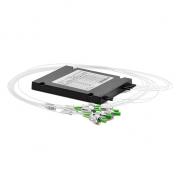 Personalizado MxN monomodo ABS Splitters/Acopladores Divisores FBTs, LC/SC/FC