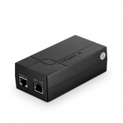 Single Port 10/100/1000M Gigabit PoE Injector, AC 35W