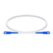 Câble Optique pour Intérieur (FTTH) LSZH, 20M (66ft) SC UPC vers SC UPC Simplex Monomode 9/125 OS2, Élément de Force FRP