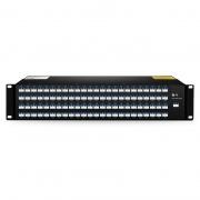 Multiplexor Demultiplexor DWDM Mux Demux fibra dual con 96 canales CH15-CH62.5, AAWG, FMU 2U montaje en rack, LC/UPC