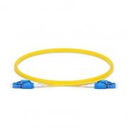 1м (3ft)Патч-корд Оптический LC-LC/UPC SM 9/125 Duplex OS2, Переключаемый Uniboot PVC(OFNR)