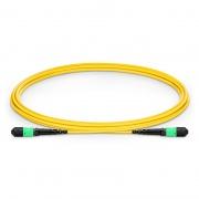 Cable Troncal de Fibra Óptica OS2 9/125 Monomodo MTP-MTP 12 Fibras tipo B, élite, plenum (OFNP) - amarillo