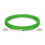 LC-LC UPC Duplex OM5 Multimode Fibre Patch Lead 2.0mm PVC (OFNR) 3m
