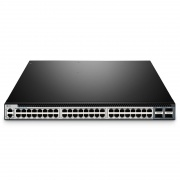 S5850-48T4Q 48-Port 10GBase-T SFP+ LAN Switch RJ45, ToR/Leaf, Layer 2/Layer 3 mit 4*40G QSFP+ Port