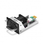 Hot-swappable Fan Module, Front-to-Back Airflow Through the S5850-32S2Q Switch Chassis