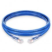 100ft (30.5m) Cat6 Snagless Unshielded (UTP) PVC CM Ethernet Network Patch Cable, Blue