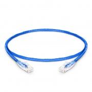 1ft (0.3m) Cat5e Snagless Unshielded (UTP) PVC CM Ethernet Network Patch Cable, Blue
