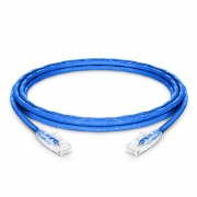 10ft (3m) Cat6 Snagless Unshielded (UTP) PVC CM Ethernet Network Patch Cable, Blue