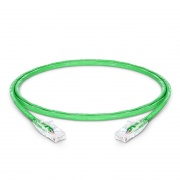 0.9m Cat5e Ethernet Patch Cable - Snagless, Unshielded (UTP) PVC CM, Green
