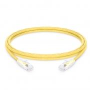 8ft (2,4m) Câble Réseau Ethernet Cat5e Snagless Non Blindé (UTP) PVC CM, Jaune