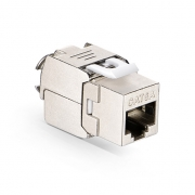 Cat6a RJ45 (8P8C) Shielded Toolless Keystone Jack