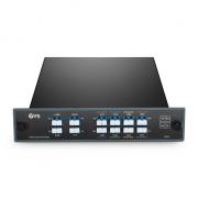 8チャンネル 1470-1610nm デュアルファイバ CWDM波長合分波モジュール(Mux/Demux、モニターポート & 拡張ポート & 1310nmポート付き、LC/UPC、FMUプラグインモジュール)