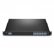 16 Channels 100GHz C21-C36, with Monitor, Expansion and 1310nm Port, LC/UPC, Dual Fiber DWDM Mux Demux, 1U Rack Mount