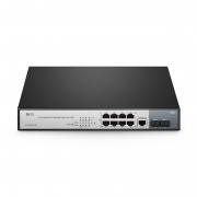 8-Port Gigabit PoE+ Managed Switch mit 2 SFP Slots, 150W