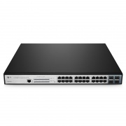 24-Port Gigabit PoE+ Managed Switch with 4 SFP, 400W