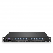 FMT 1800 Efficient CWDM Connect (Set of Two), 180Gbps for 50km Dual Fiber BIDI End-to-End Metro Transport Platform, Dual 100V-240VAC in 1U Managed Chassis