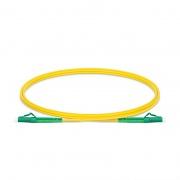 Cable/latiguillo/jumper de fibra óptica OS2 monomodo LC APC a LC APC símplex PVC (OFNR) 2.0mm longitud personalizada