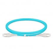 Cable de fibra óptica OM4 multimodo SC UPC a SC UPC dúplex 2.0mm PVC(OFNR), longitud personalizada