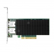 PCIe 2.1 x8 Dual Copper Port 10GBase-T Ethernet Network Interface Card