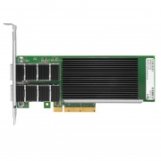 PCIe 3.0 x8 Dual Port 40 Gigabit QSFP+ Ethernet Network Interface Card