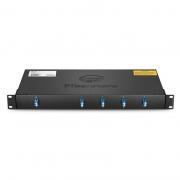 2X8 PLC Fiber Splitter, 1U 19