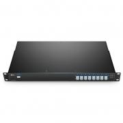 16 Channels 100GHz C21-C36, LC/UPC, Single Fiber DWDM Mux Demux, Side-A, 1U Rack Mount