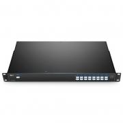 16 Channels 100GHz C45-C60, LC/UPC, Single Fiber DWDM Mux Demux, Side-B, 1U Rack Mount